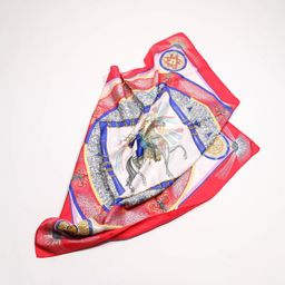 "HERMES - ""Feux d'artifice"" Silk scarf | Etsy (US)"