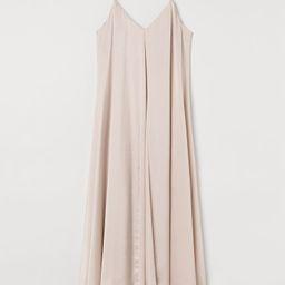 A-line Satin Dress | H&M (US)
