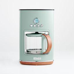 Haden Silt Green Dorchester Ultra Drip Coffee Maker + Reviews | Crate and Barrel | Crate & Barrel