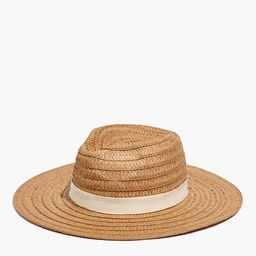 Packable Braided Straw Hat   Madewell
