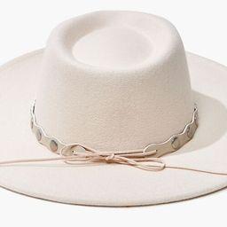 Studded-Trim Felt Panama Hat | Forever 21 (US)