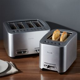Breville SmartToasters | Crate and Barrel | Crate & Barrel