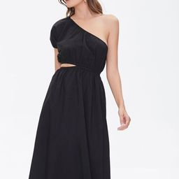 One-Shoulder Cutout Dress   Forever 21 (US)