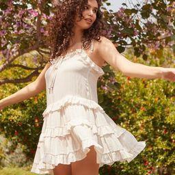 Ruffle-Trim Mini Dress   Forever 21 (US)