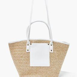 Basketwoven Tote Bag   Forever 21 (US)
