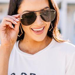 Living The Life Black Sunglasses   The Mint Julep Boutique