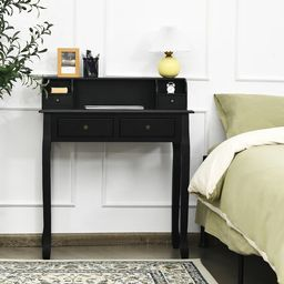 Writing Desk Mission Home Office 4 Drawer   Wayfair North America
