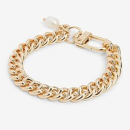 Gold Chain and Pearl Bracelet | Express