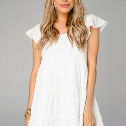 Delilah Baby Doll Dress - White | BuddyLove