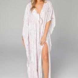 Mamie Caftan Maxi Dress - Quartz | BuddyLove
