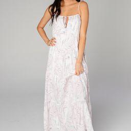 Reese Tie-Shoulder Maxi Dress - Quartz | BuddyLove