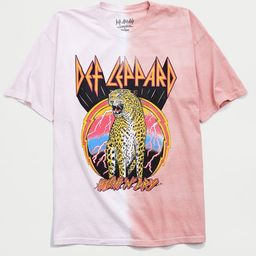 Def Leppard Split Dye Tee   Urban Outfitters (US and RoW)