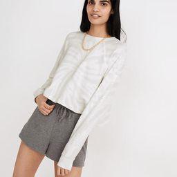 MWL Tie-Dye Crop Sweatshirt Tee | Madewell