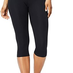 Core 10 Women's Spectrum Yoga High Waist Capri Legging-21   Amazon (US)