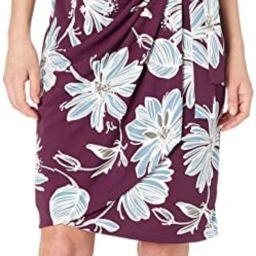 Lark & Ro Women's Classic Cap Sleeve Wrap Dress   Amazon (US)