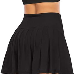 Pleated Tennis Skirts for Women with Pockets Shorts Athletic Golf Skorts Activewear Running Worko...   Amazon (US)