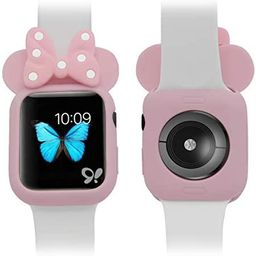 Soft Silicone Mouse Ears Protective Case Disney Character Compatible with I Watch Series 4 40MM 4...   Amazon (US)