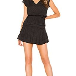 MISA Los Angeles Lilian Dress in Coal Black from Revolve.com | Revolve Clothing (Global)