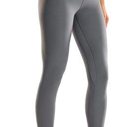 CRZ YOGA Women's Matte High Waisted Yoga Pants Tummy Control Workout Leggings -25 Inches | Amazon (US)