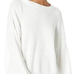 The Drop Women's Camila Slouchy Crew Neck Sweater   Amazon (US)