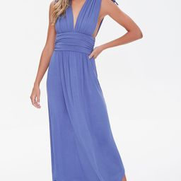 Plunging Maxi Dress   Forever 21 (US)