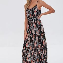 Floral Print Maxi Dress   Forever 21 (US)