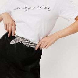 It's All Good Baby Oversized Graphic T-Shirt   NastyGal