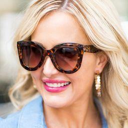 Celeste Sunglasses Butterfly- Tortoise | Avara