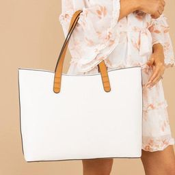 Know Your Way Ivory White Purse   The Mint Julep Boutique