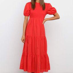 Minot Dress - Red | Petal & Pup (US)