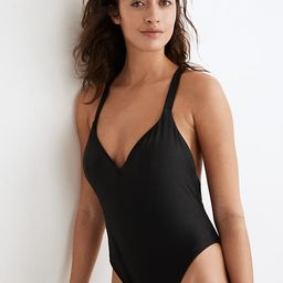 Madewell Second Wave Maillot One-Piece Swimsuit | Madewell