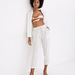 Beach Cover-Up Track Trousers   Madewell