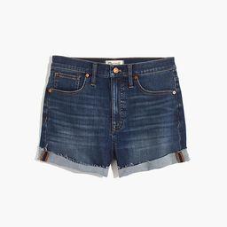 High-Rise Denim Shorts in Danny Wash: TENCEL™ Denim Edition   Madewell