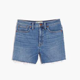 High-Rise Denim Shorts in Quintell Wash: TENCEL™ Lyocell Edition | Madewell