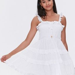Ruffled Tiered Cutout Dress | Forever 21 (US)