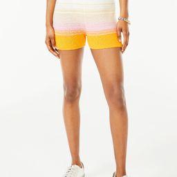 Scoop Women's Ombre Jersey Knit Shorts   Walmart (US)