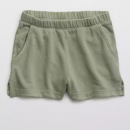 Aerie Real Good Weekend High Waisted Short | American Eagle Outfitters (US & CA)