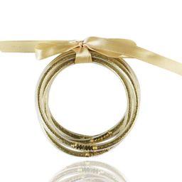 Krista + Kolly Horton:  Glitter Jelly Bracelet Set | The Styled Collection