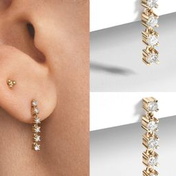 Dainty Crystal Dangles | The Styled Collection