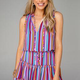 Sage Tie Waist Mini Dress - Twizzler | BuddyLove