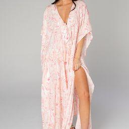 Mamie Caftan Maxi Dress - Peaches   BuddyLove