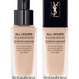 ALL HOURS FOUNDATION   Yves Saint Laurent Beauty (US)