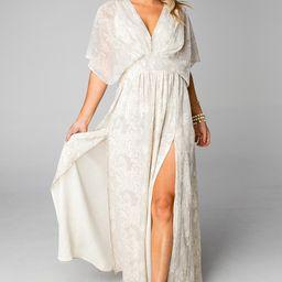 Evelyn Short Sleeve Maxi Dress - Cobra   BuddyLove
