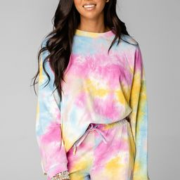 Hailey Loungewear Set - Rainbow   BuddyLove