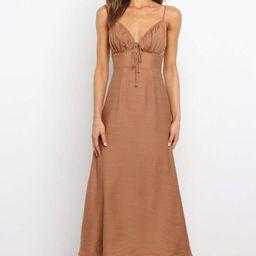 Devonshire Dress - Tan   Petal & Pup (US)