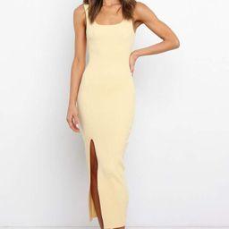 Elmy Dress - Yellow   Petal & Pup (US)
