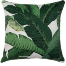 Palm Pillow Cover, Green Throw Decorative Sofa Palm, Indoor/Outdoor 18x18 Pillow, Designer Cushion | Etsy (US)