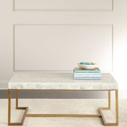 Cissy Calcite Coffee Table | Horchow