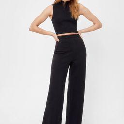 Sleeveless Crop Top and Pants Set   NastyGal