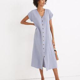 Lightspun Easy Midi Dress   Madewell
